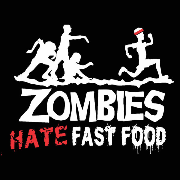 Zombies Hate Fast Food Tank Top