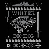 Winter Is Coming Ugly Christmas Sweater Tank Top