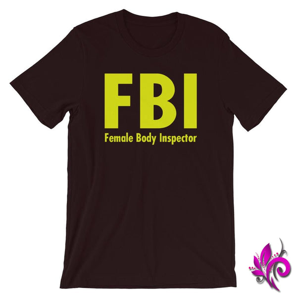 Female Body Inspector Oxblood Black / S Dudes