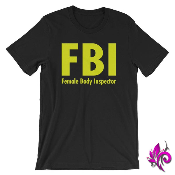 Female Body Inspector Black / S Dudes