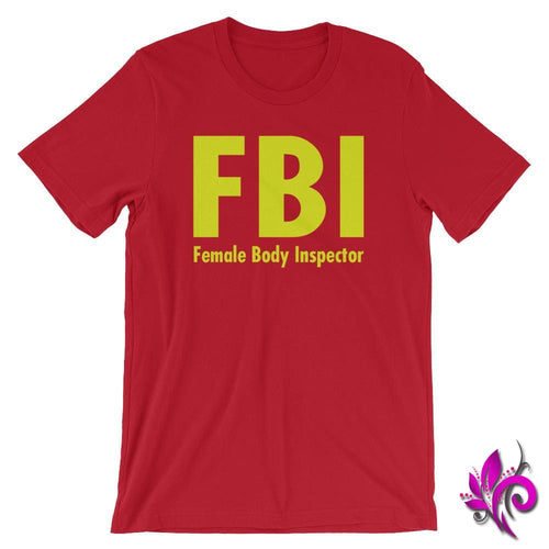 Female Body Inspector Red / S Dudes