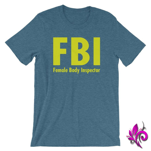 Female Body Inspector Heather Deep Teal / S Dudes