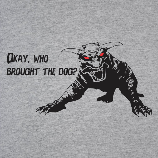 Who Brought The Dog Men's T-Shirt