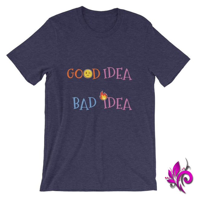 Good Idea Bad Idea Heather Midnight Navy / S