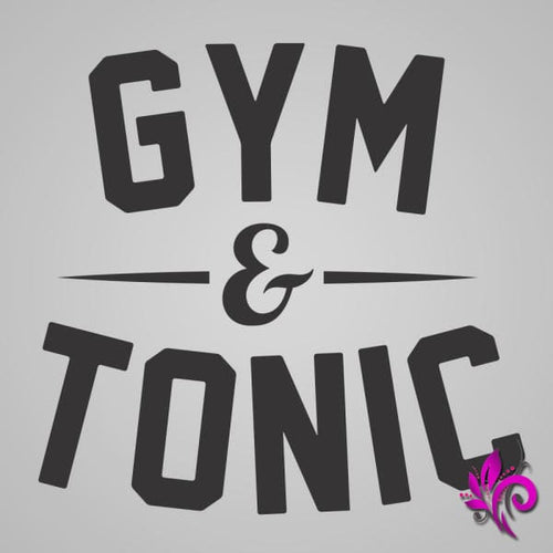 Gym And Tonic Tank Top Express Tee