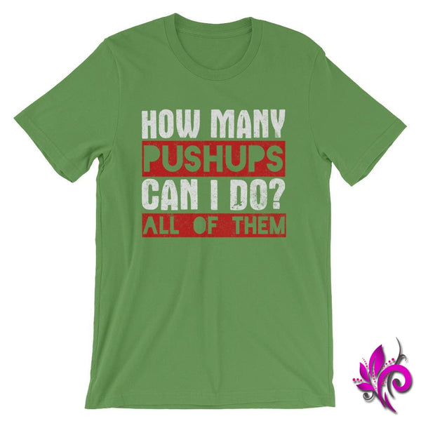 How Many Push Ups Can I Do Leaf / S Dudes