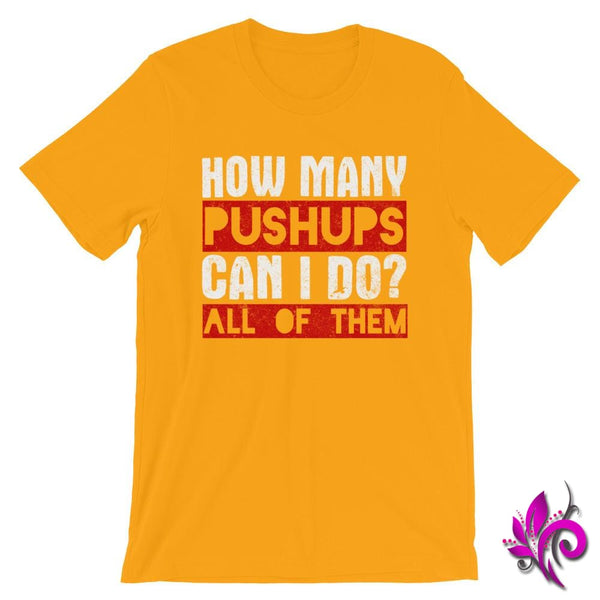 How Many Push Ups Can I Do Gold / S Dudes