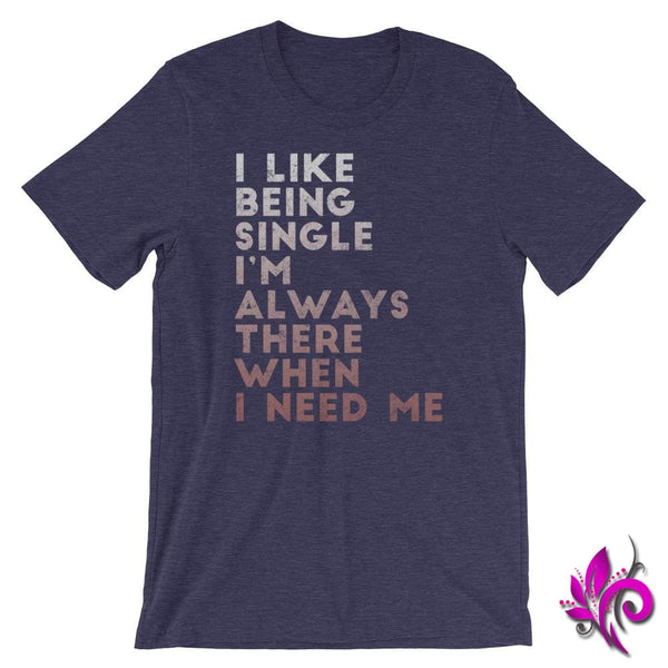I Like Being Single Heather Midnight Navy / S Dudes