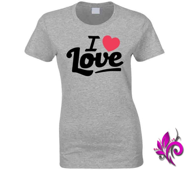 I Love Love Ladies / Sport Grey / Small Express Tee