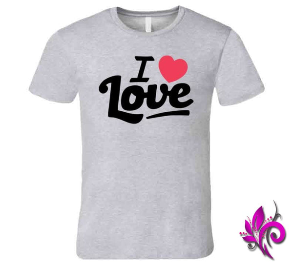 I Love Love Premium / Sport Grey / Small Express Tee