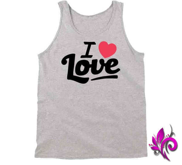 I Love Love Tanktop / Sport Grey / Small Express Tee