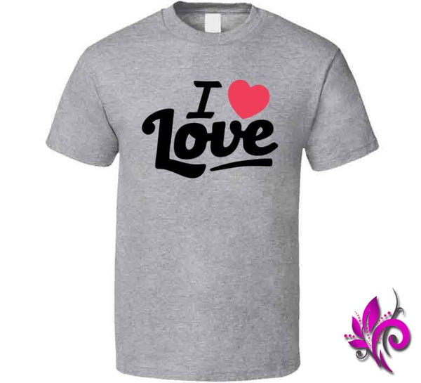I Love Love Classic / Sport Grey / Small Express Tee