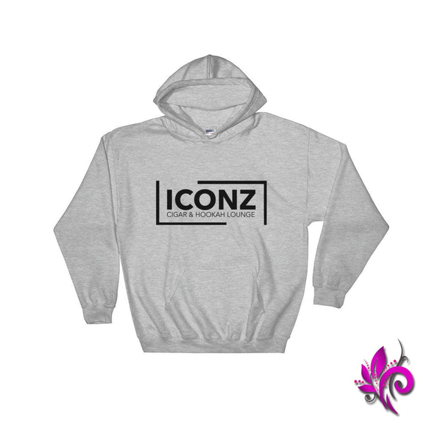 ICONZ Men Sport Grey Hoodie - pure-bliss-clothing