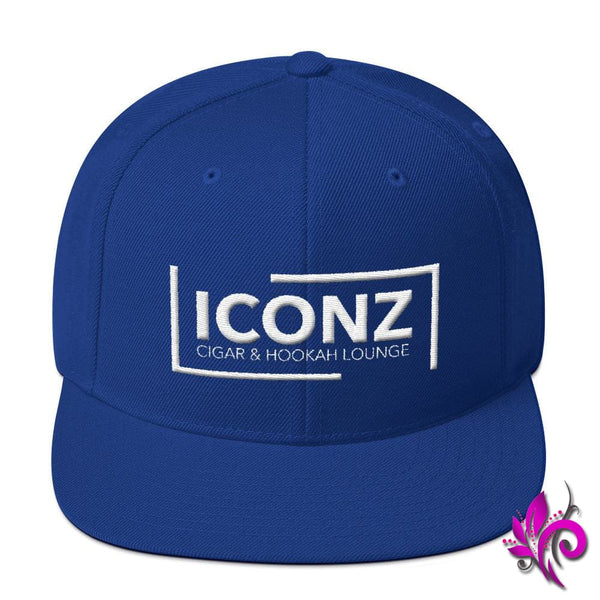 ICONZ Snapback Hat Royal Blue ICONZ