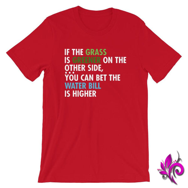 If The Grass Is Greener Red / S Express Tee