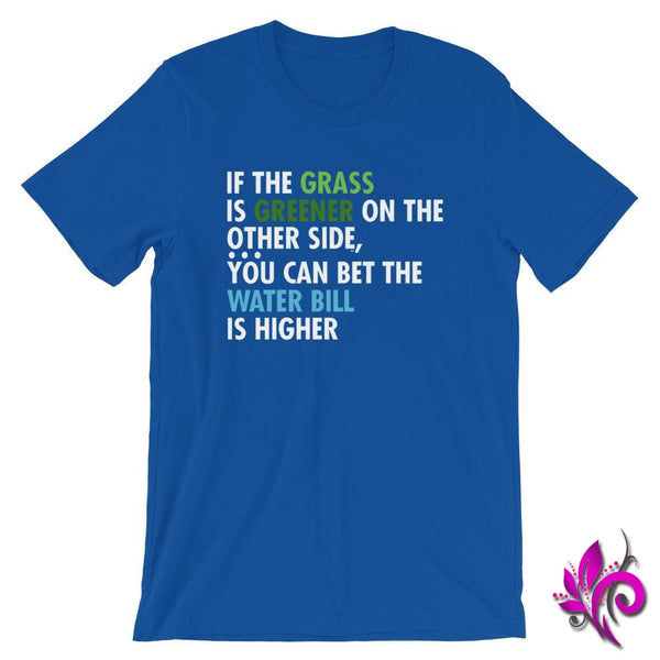 If The Grass Is Greener True Royal / S Express Tee