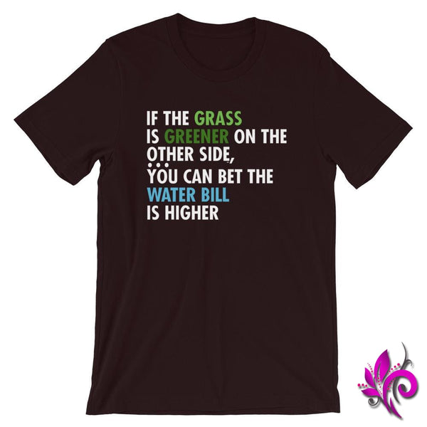If The Grass Is Greener Oxblood Black / S Express Tee