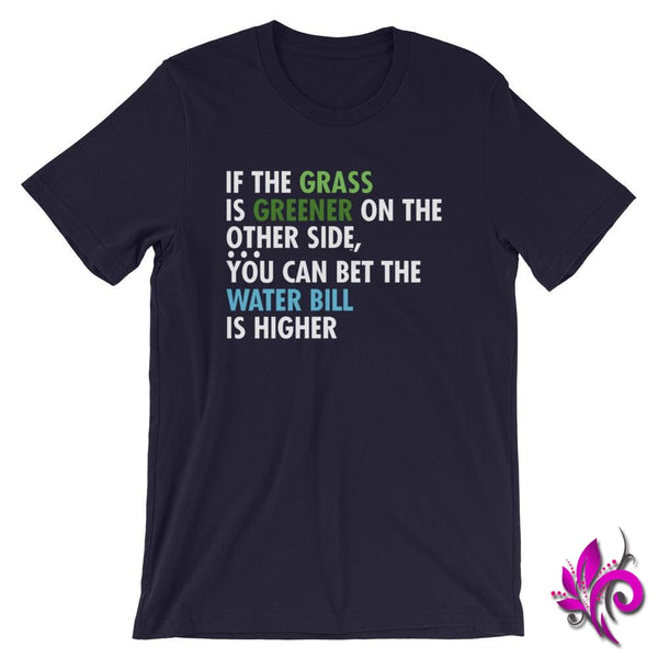 If The Grass Is Greener Navy / S Express Tee