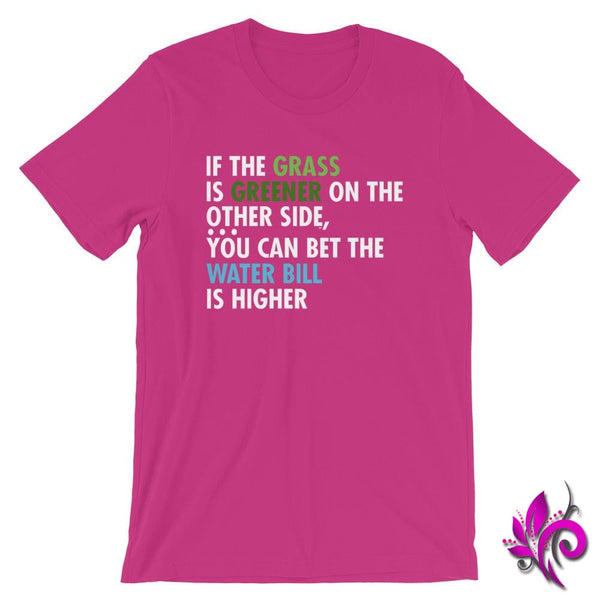 If The Grass Is Greener Berry / S Express Tee