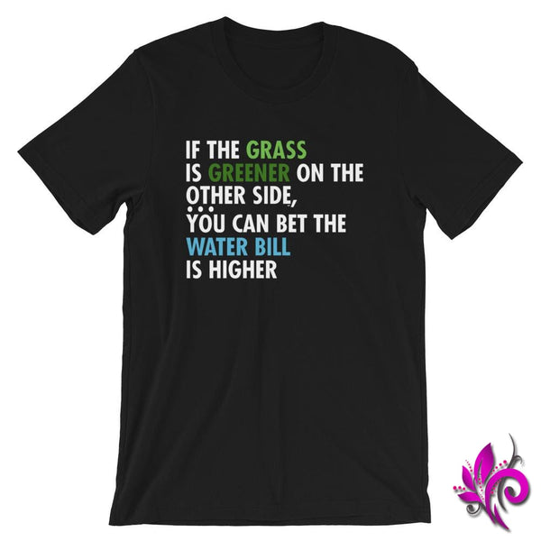 If The Grass Is Greener Black / S Express Tee