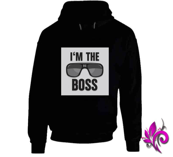 Im The Boss Hoodie / Black / Small Chicks