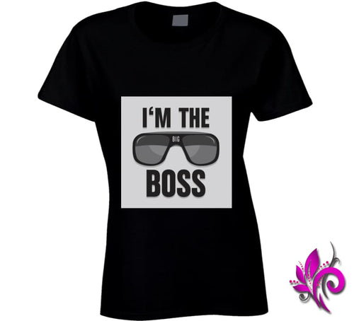 Im The Boss Ladies / Black / Small Chicks