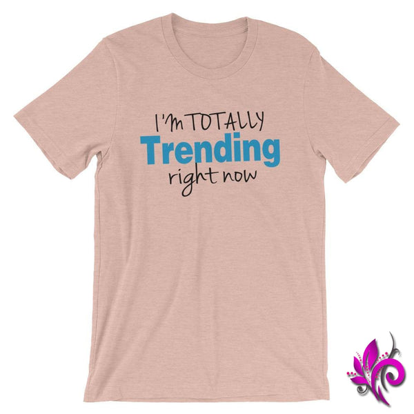 Im Totally Trending Right Now Heather Prism Peach / S Chicks