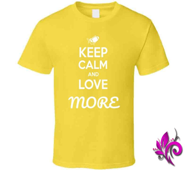 Keep Calm And Love More Classic / Daisy / Small T-Shirt