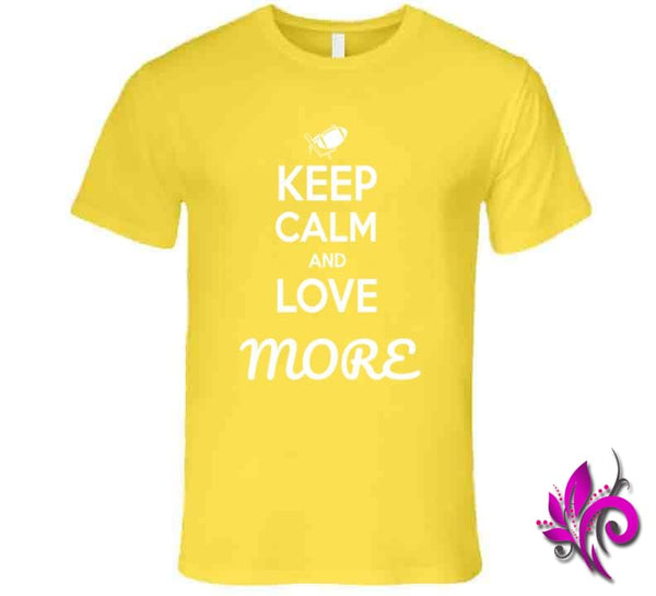 Keep Calm And Love More Premium / Daisy / Small T-Shirt