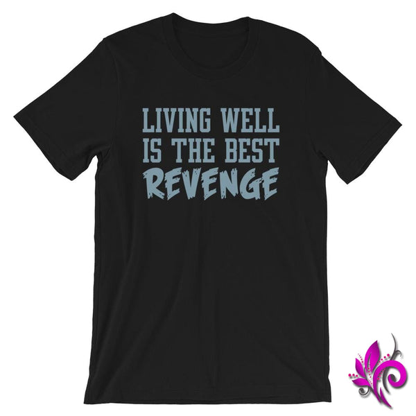 Living Well Is The Best Revenge Black / S Chicks