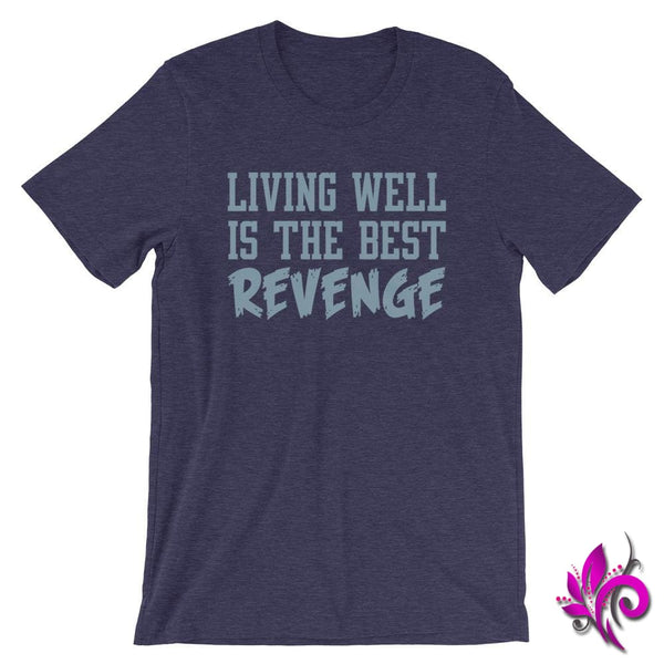 Living Well Is The Best Revenge Heather Midnight Navy / S Chicks