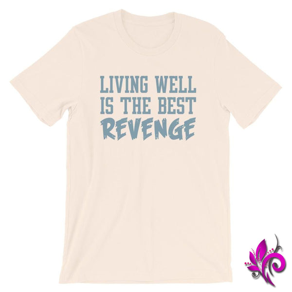 Living Well Is The Best Revenge Soft Cream / S Chicks