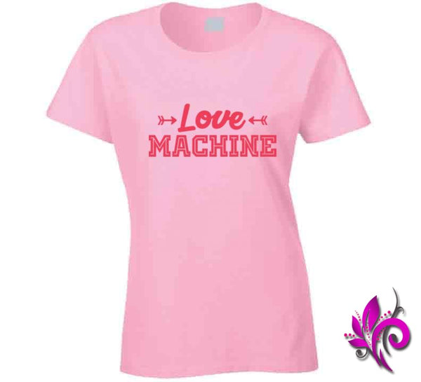 Love Machine Ladies / Light Pink / Small Express Tee