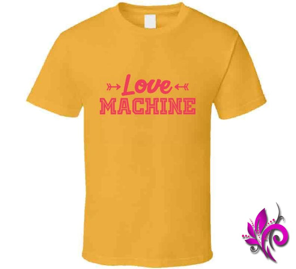 Love Machine Classic / Gold / Small Express Tee