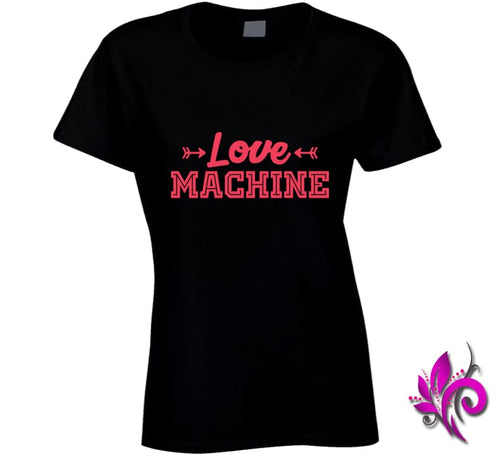 Love Machine Ladies / Black / Small Express Tee
