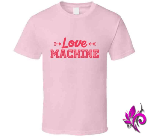 Love Machine Classic / Light Pink / Small Express Tee