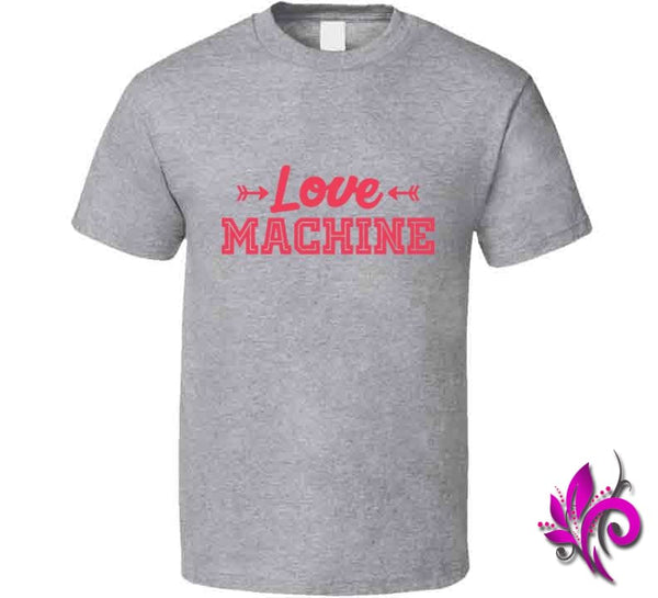 Love Machine Classic / Sport Grey / Small Express Tee