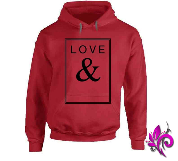 Love & Hoodie / Red / Small Express Tee