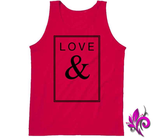 Love & Tanktop / Red / Small Express Tee