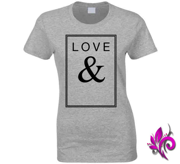 Love & Ladies / Sport Grey / Small Express Tee