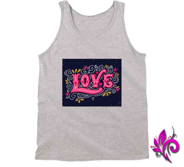 Love Tanktop / Sport Grey / Small T-Shirt