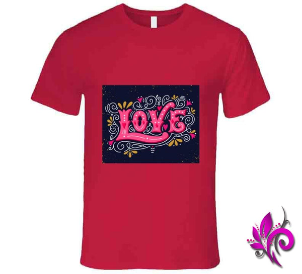Love Premium / Red / Small T-Shirt
