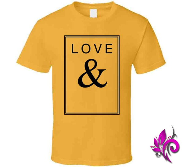 Love & Classic / Gold / Small Express Tee