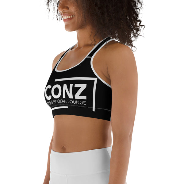 ICONZ Sports Bra Black