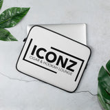 ICONZ Laptop Sleeve White