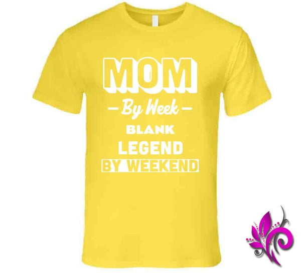 Mom By Week Blank Legend By Weekend Premium / Daisy / Small Chicks