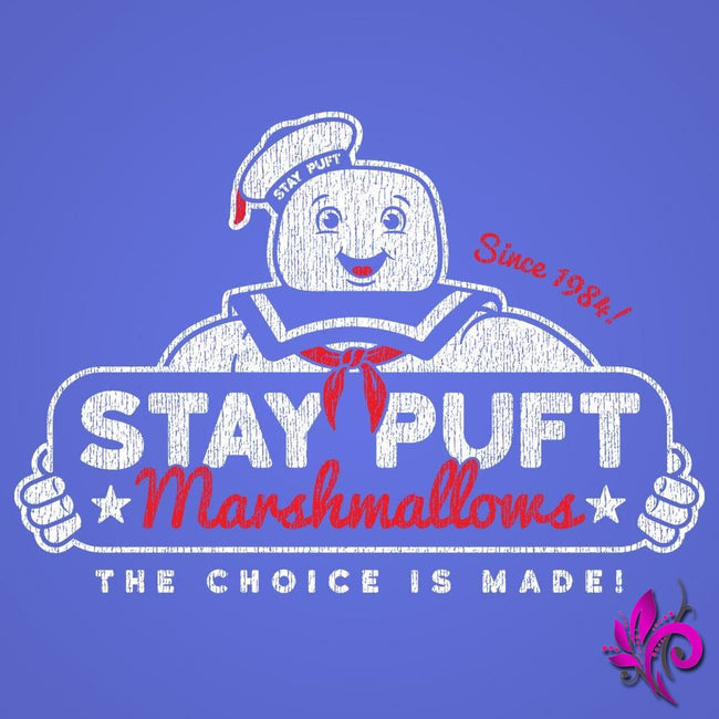 Stay Puft Tank Top Royal Blue / Small Express Tee