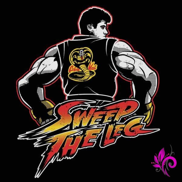 Sweep The Leg Dojo Tank Top Black / 2X-Large Express Tee