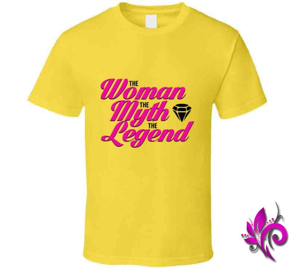 The Woman The Myth The Legend Classic / Daisy / Small T-Shirt