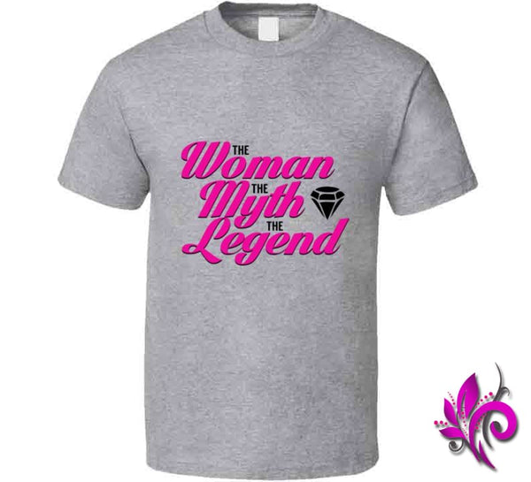 The Woman The Myth The Legend Classic / Sport Grey / Small T-Shirt